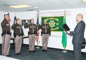 4 New Deputies Sworn In