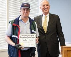 Lindol Larkin Award April 8, 2013